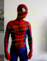 Movie Coser High Quality Newest 3D Printing Classic Spiderman Costume Spandex Classic Spiderman Suit Red Spiderman