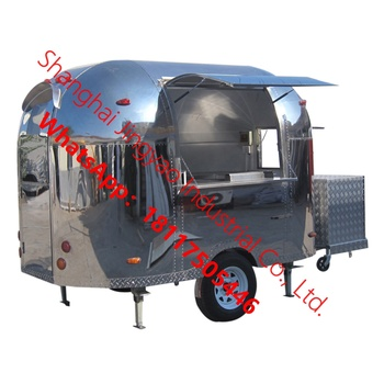 jy-CR320 multifunctional China fast food truck/bakery food cart/food trailer