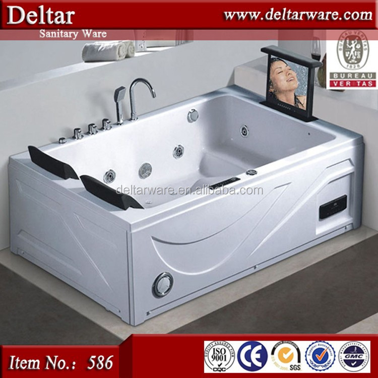 Cheap Hot Tub Jet Whirlpool Bathtub With Tv Indoor Hot Tubs Sale Foshan Factory 2 Person Jetted Bathtubs Buy Cheap Hot Tub Indoor Hot Tubs Sale 2 Person Jetted Bathtubs Product On Alibaba Com