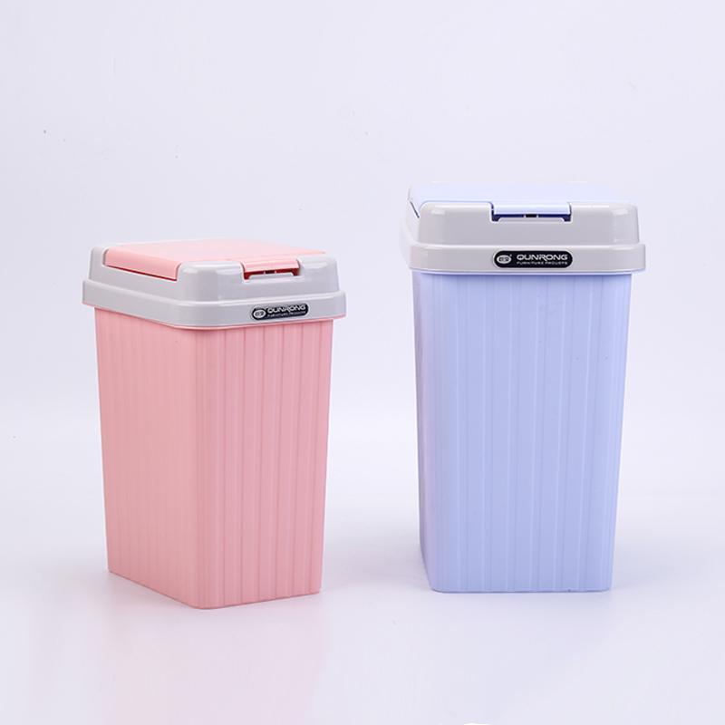 5 л, индивидуальный бытовой прямоугольный выдвижной пластиковый мини-корзина для мусора