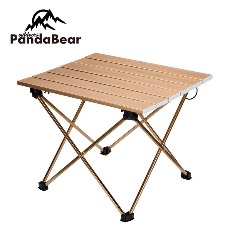 Складной алюминиевый складной стол для кемпинга с подстаканником набор алюминиевых стульев