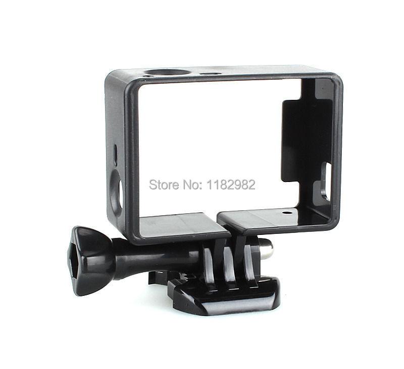 Освобожденный доставка EMS Черный ПВХ Защитный Стандартный Кадр Крепление Камеры для GoPro HD Hero 3 3 +