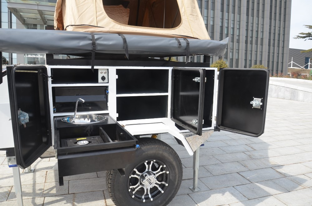 Elegant 2014 SignaTour Campers Tote 4 4X8 Camping Utility Trailer Teardrop