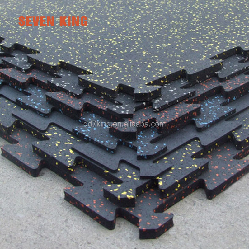 High density gym wear rubber floor mats from factory for sale