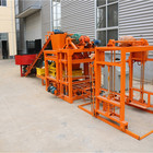 Malaysia Make Bricks Uganda Malaysia Plastic Pallet Brick Making Machine QTJ4-25 Price Brick Machine