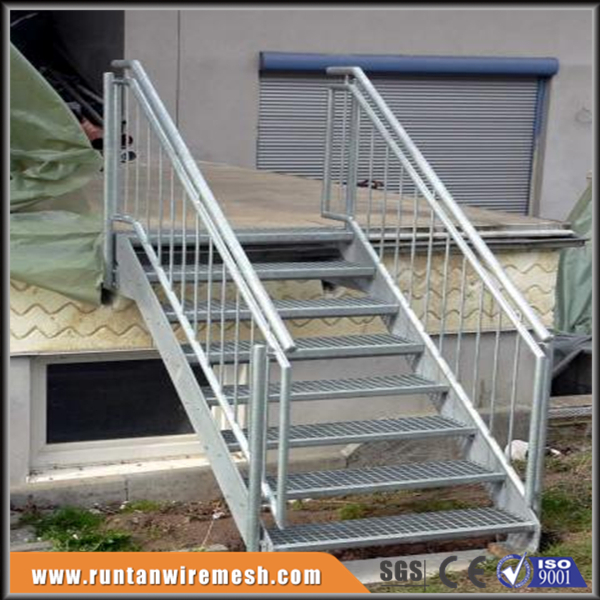 Galvanized Movable Steel Step Stairs