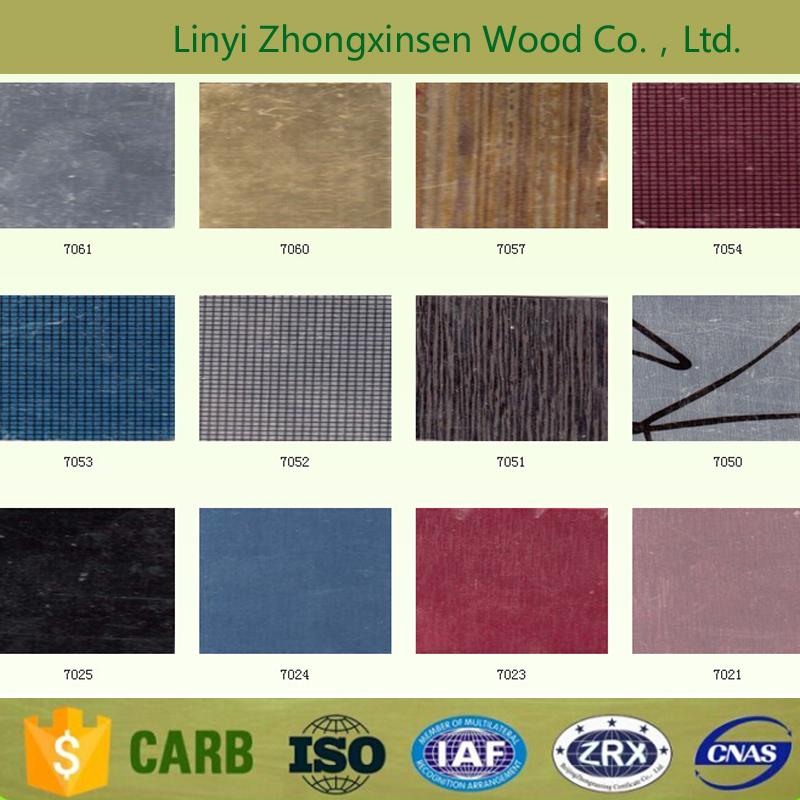 metal color series Decorative High-Pressure Laminates/HPL
