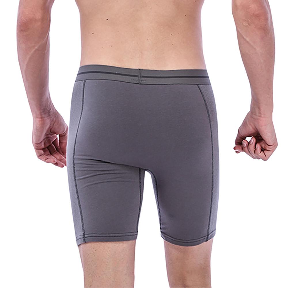 Underwear & Sleepwears Miarhb #zg4 New Hot Fashion 2019 Free Ship Men Pants Summer Linen Cotton Elastic Anti-wear Leg Outdoor Sports Shorts