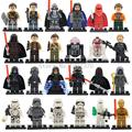 Latest Space Star Wars Figures 24pcs lot Darth Vader C3PO Yoda B2B Solider Lepin Starwars Building