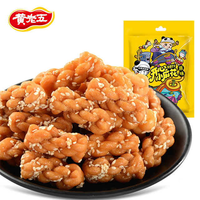Delicious Chinese Snack Food Fried Mixed Flavor Dough Twists
