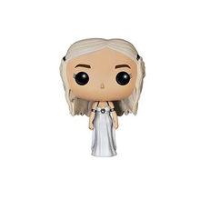 FUNKO POP Song Of Ice And Fire & Game Of Thrones, Джон Сноу, даенерис Таргариен, дрогон, призрака, ПВХ, фигурки, игрушки для детей, подарок(Китай)