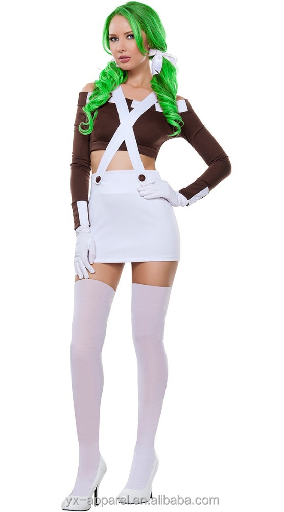 black and white french maid funny carnival party costumes