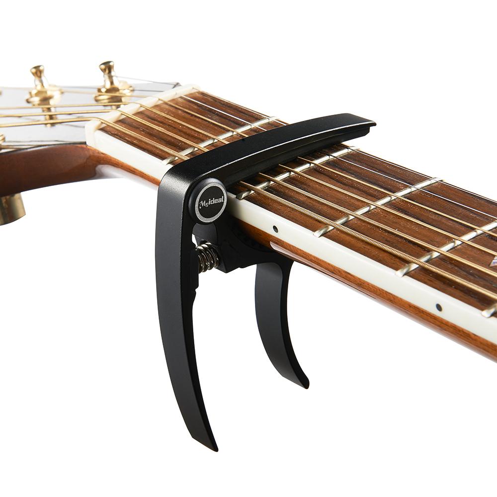 Dunlop Acoustic Guitar Capo | Trigger Nickel | Rainbow Guitars  |Guitar Capo