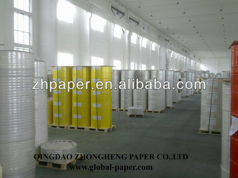 CB CFB CF carbonless paper/NCR paper in rolls for Five colors