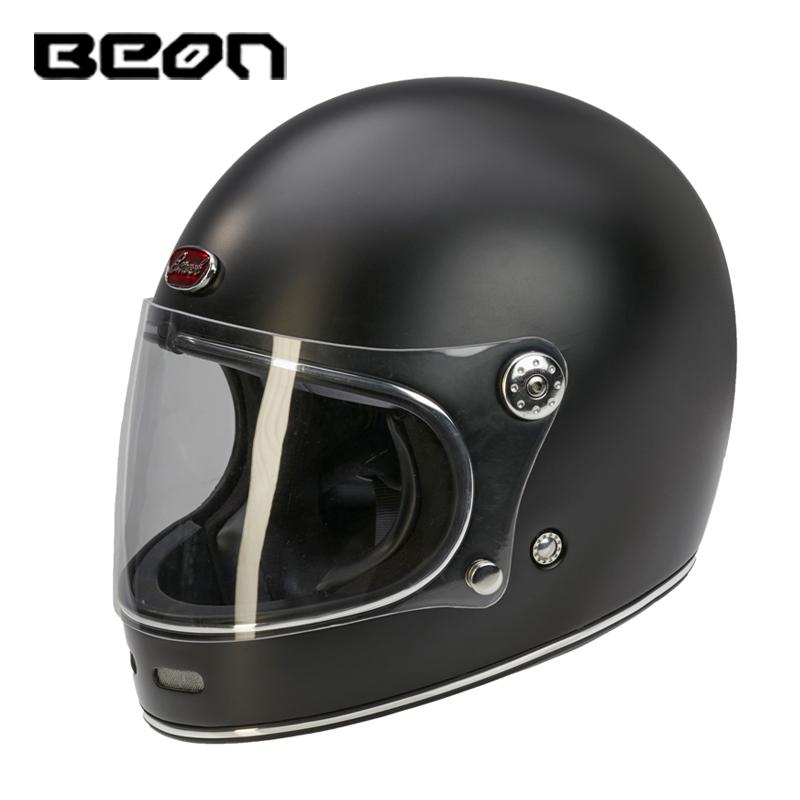 B510 motorcycle Helmets Certification motocross BEON face glassfiber ECE vintage