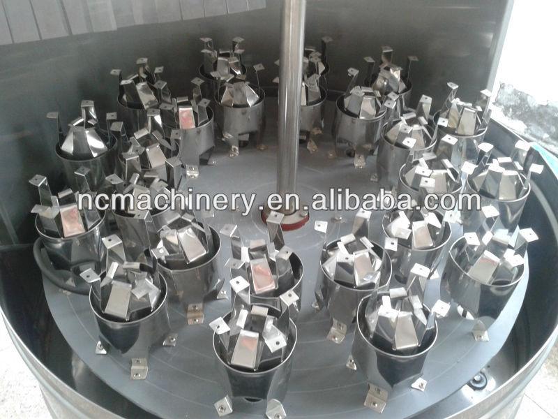 Semi automatic 1000B/H PET water bottles washing machine