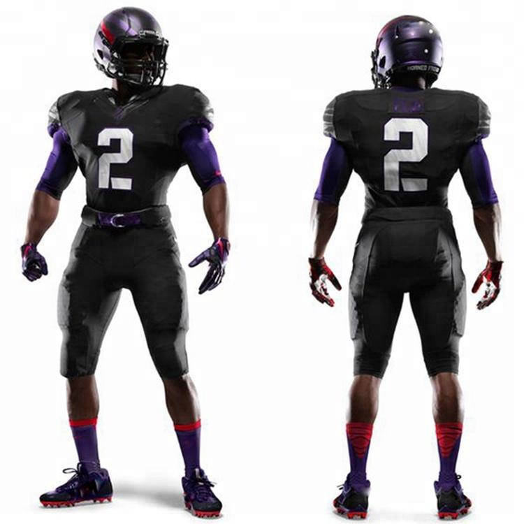 2018 New Model Design Custom Jersey Football Jersey Soccer American Football Jersey Black - Buy Jersey Football,Football Jersey New Model,Football ...