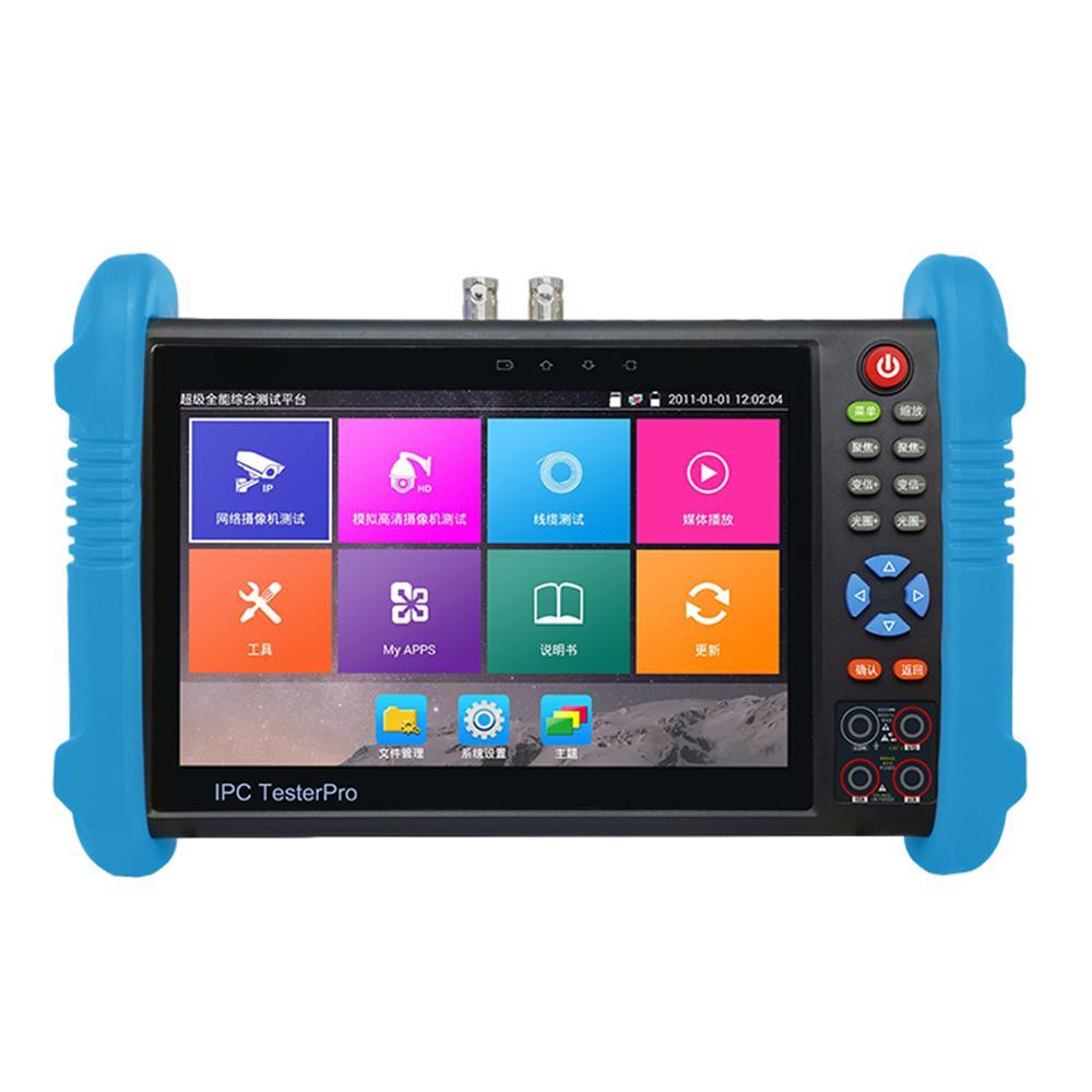 Hot New multi-function 7 inch IPS touch monitor 4K H.265, Full 4K hd ipc camera cctv tester IPC-9800 Plus