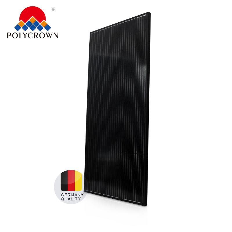 PERC сотовый 370W полный черный подойдет как для повседневной носки, так 370W рынка ЕС с TUV CE ISO солнечные панели мощности