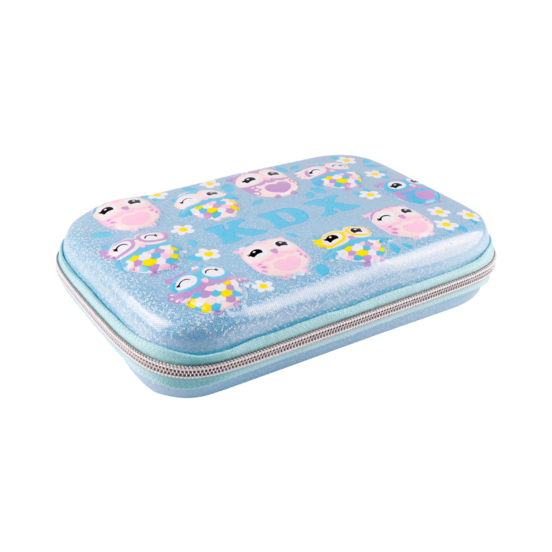 TOPSTHINK Yiwu new novelty cute owl pencil pouch with zipper