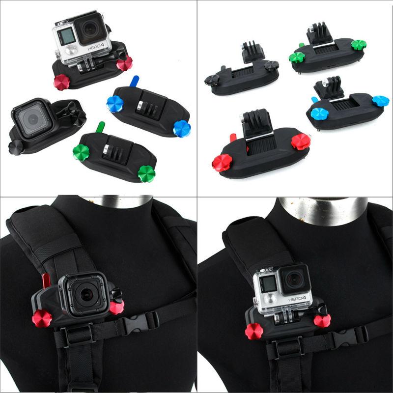 Захват Клип Quick Release Рюкзак Крепление для Go Pro GoPro Плечевой Ремень Ремень Крепления и защитить ваш Gopro Камеры легко