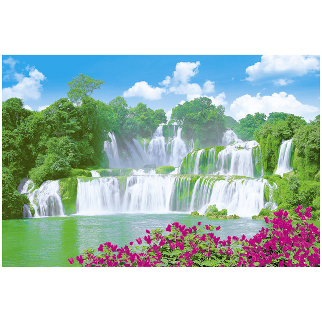 scenery water fall Wall Paper Picture/painting paper poster Image photo printing wall poster