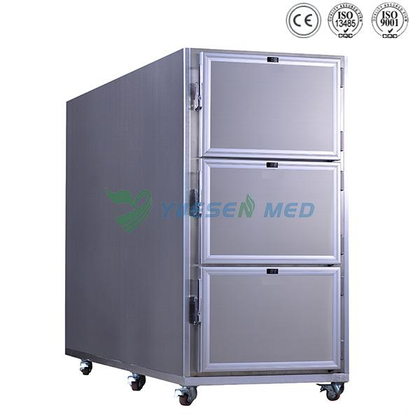 YSSTTG03 funeral 3 dead body refrigerator mortuary refrigerator for hospital funeral parlor