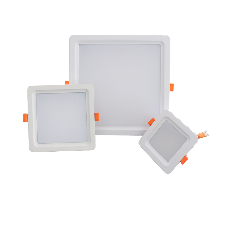 Acrylic LED Recessed Ceiling Panel Down Lights Ultra Slim Lamp for Indoor Office Restaurant