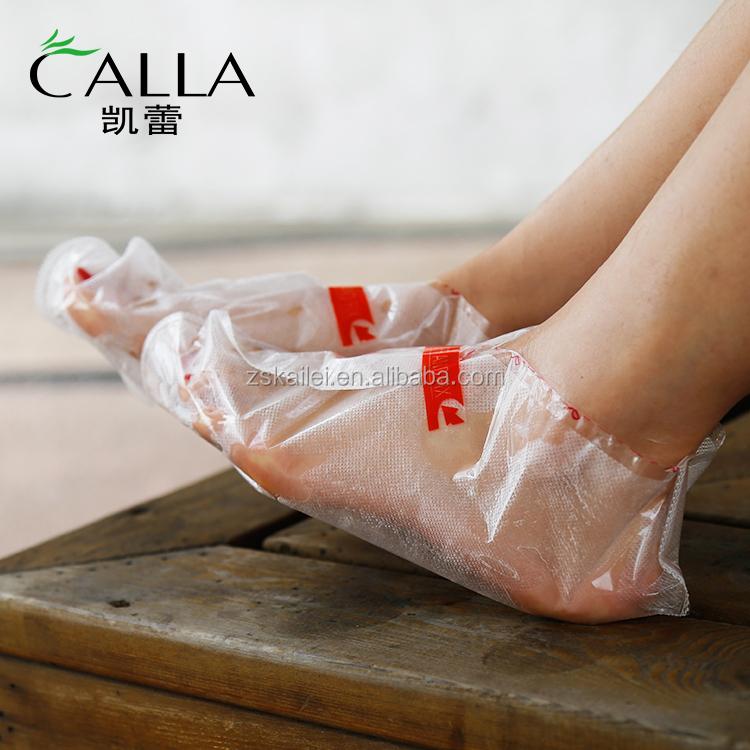 High quality feet treatment sock hydro exfoliation peeling footmask sheet exfoliating peel care foot mask