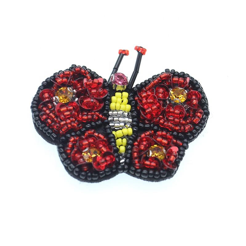 Модные аксессуары для обуви в форме бабочки