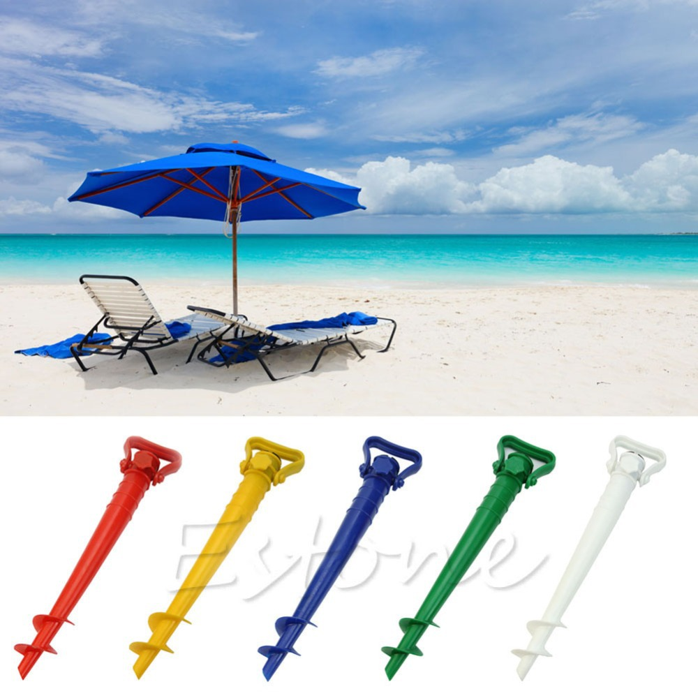Sun Beach Garden Patio Umbrella Держатель Зонтик Грунтовых Анкеров Спайк Рыбалка Стенд
