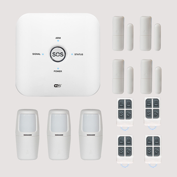 Top sale High Quality Personal house Used Alarm Switch GSM Alarmas System with SOS Emergency Panic Button