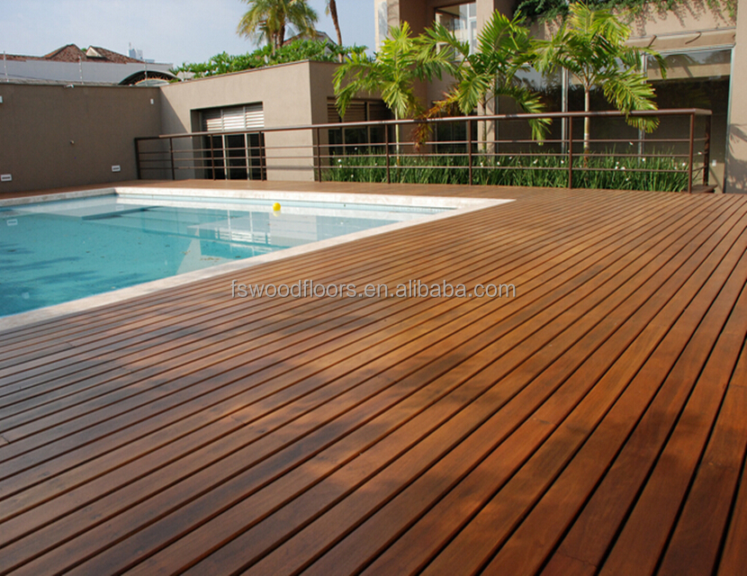 Exterior Swimming Pool Cumaru Hardwood Decking View Swimming Pool Decking Yorking Hardwood Product Details From Foshan Yorking Hardwood Flooring Co Ltd On Alibaba Com