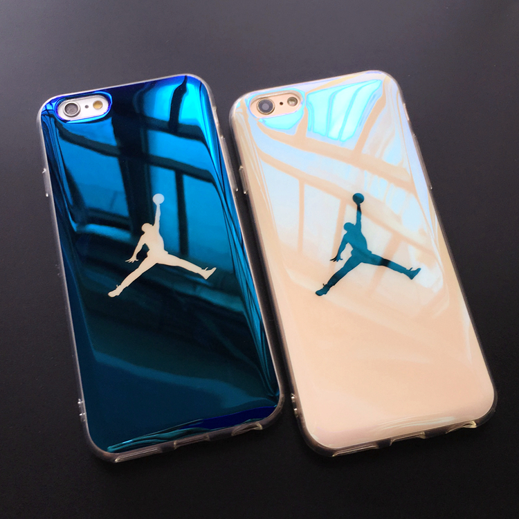 detailed look 27fbe 505d9 Slim Blu-Ray Michael Jordan NBA TPU Soft Iphone 7 Plus XS MAX XR X Jelly  Case Back Cover For Iphone 6 6S 8 Plus