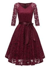 Женское кружевное платье-туника Aelegantmis, облегающее вечернее платье с v-образным вырезом, платье для ночного клуба, весна 2019(Китай)