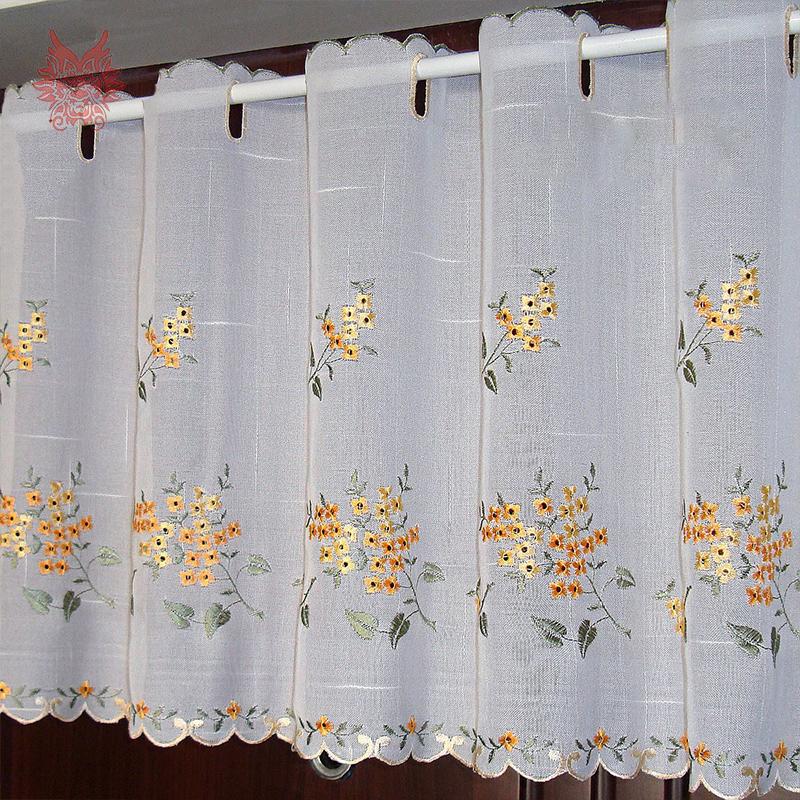 Online Get Cheap Lace Kitchen Curtains Aliexpress Com