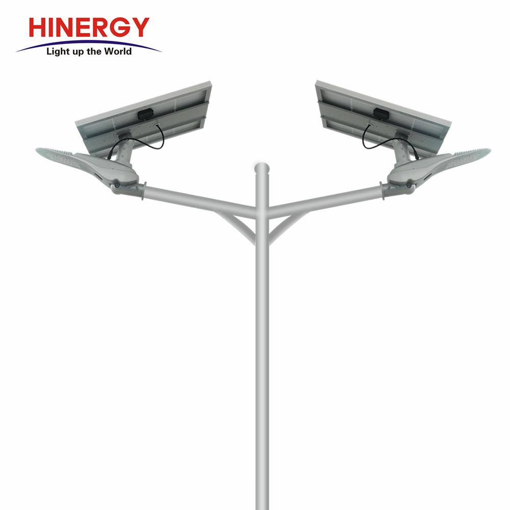 High Lumen Outdoor IP65 Separated Solar Panel Street Garden led Light Price List