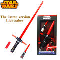 NEW Hot 105cm Star Wars lightsaber 7 The Force Awakens Kylo Ren LED scalable Cosplay Darth
