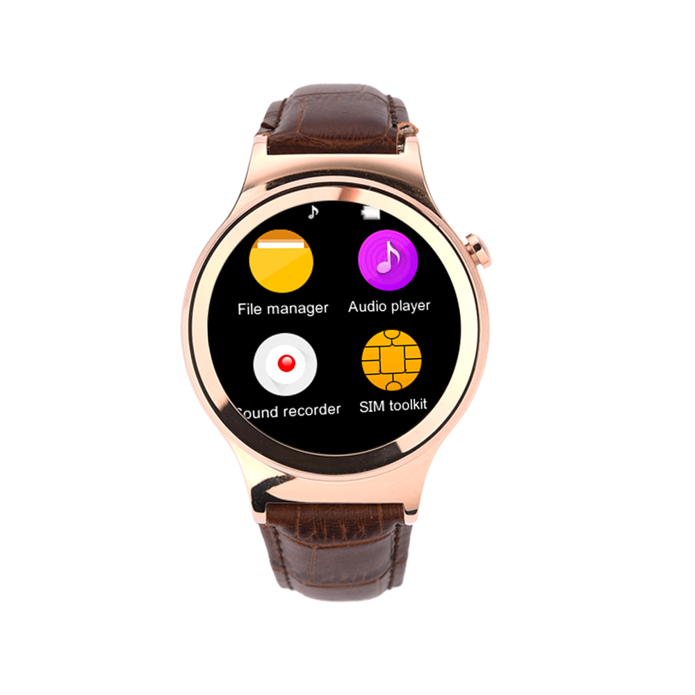 smart watch s3 clock with sim tf card compatible for apple. Black Bedroom Furniture Sets. Home Design Ideas