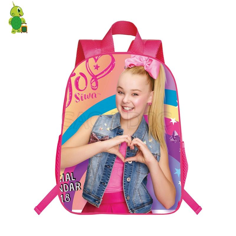 76af07e2e71b Pop Star Jojo Siwa Backpack School Bags For Teenage Girls Daily ...