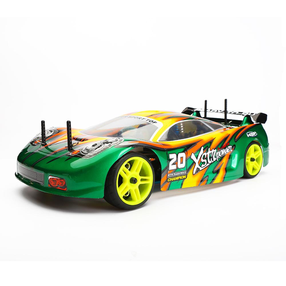 HSP RC Car 4wd Nitro Gas Power Remote Control Car 1/10