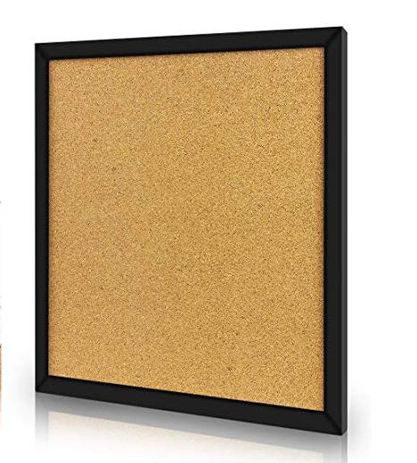 2020 Factory Wall-Mounted Black Framed Wood Cork Bulletin Board - Yola WhiteBoard   szyola.net