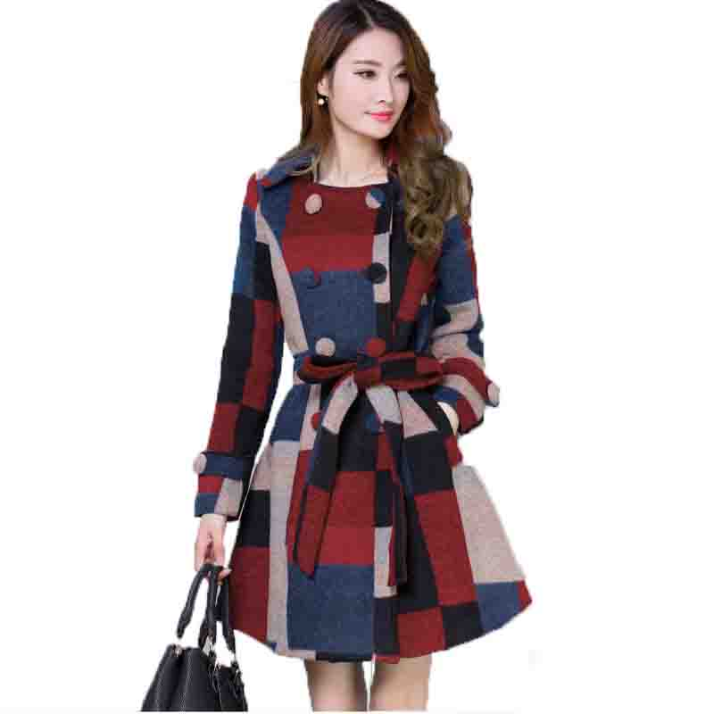 Buy Parka Women Jackets 2016 Ladies Hooded Jacket Winter