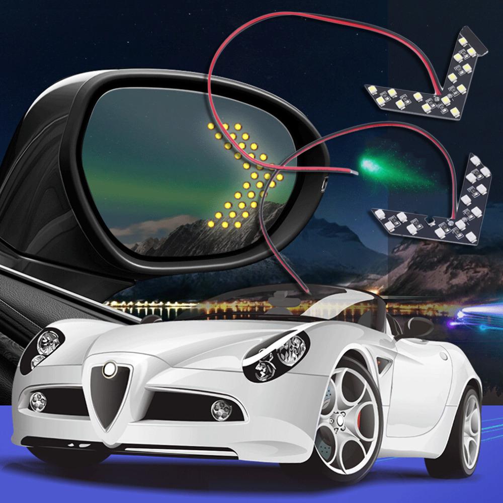 1x 14SMD из светодиодов стрелка панель для автомобилей зеркало заднего вида индикатор указатель поворота новый падения доставкой
