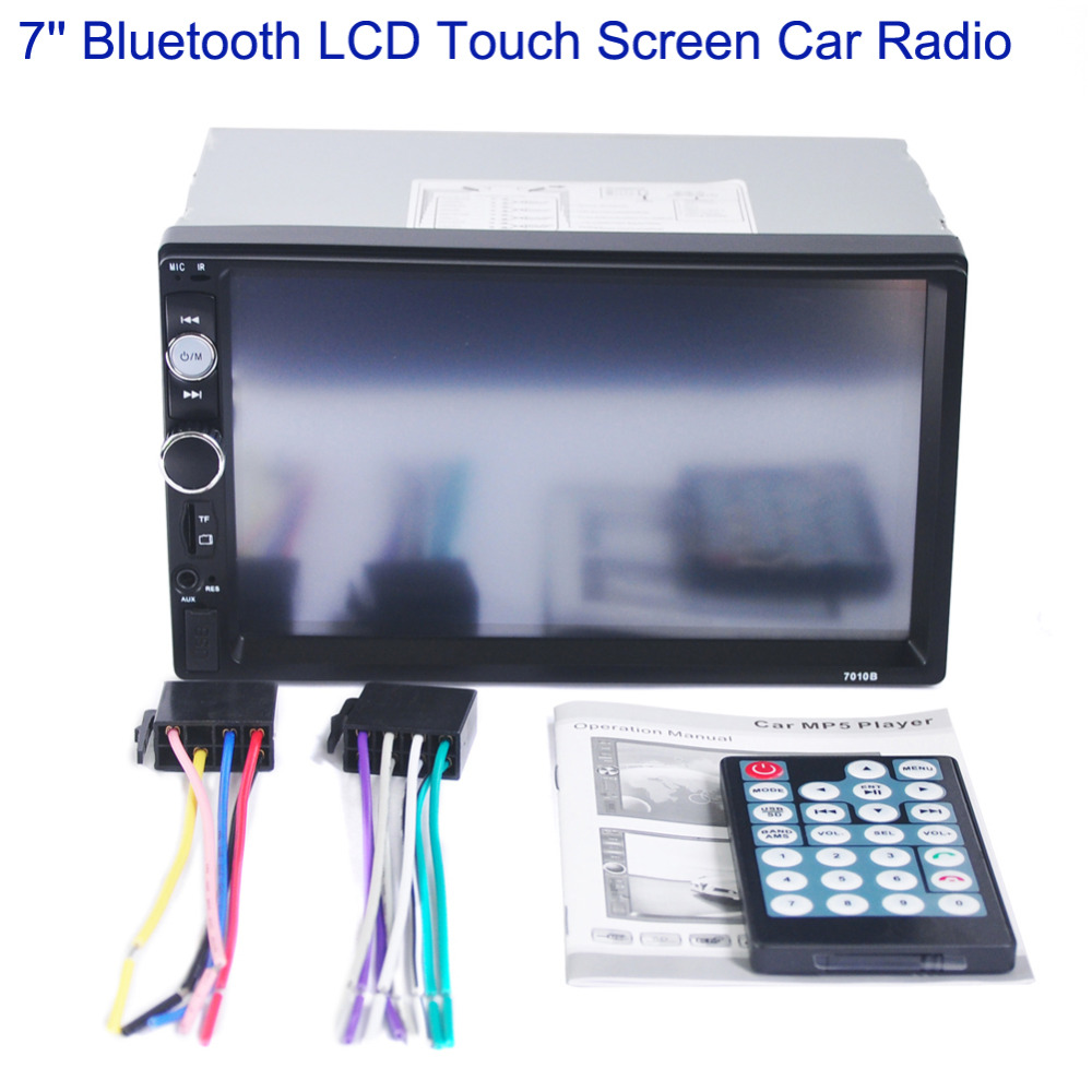 Newest 7'' Inch HD Bluetooth LCD Touch Screen Car Stereo