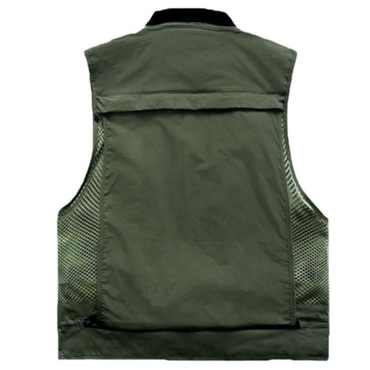 Multi Pockets Mesh Lightweight Travel Photography Fishing Outdoor Vest