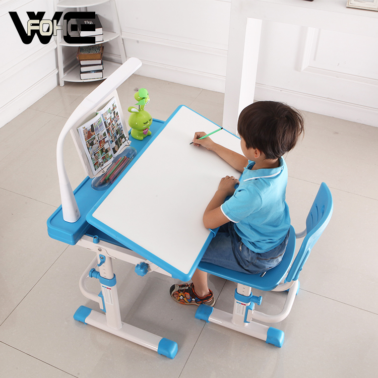 Student Writing Desk Kids Study Table and Chair Set with Storage Drawer for Boys Girls Blue Warmiehomy Multi-functional Desk Chair Set,Children Study Desk Chair Set with Adjustable Height