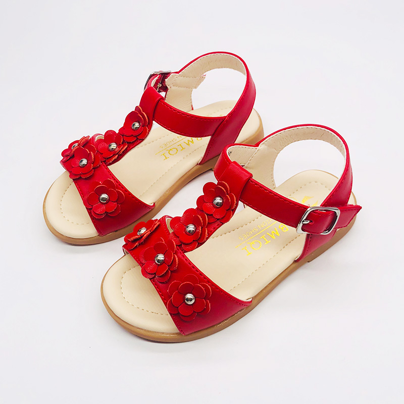Заводская цена, Китай, оптовая продажа, детские сандалии, милая обувь для маленькой девочки, мягкая подошва