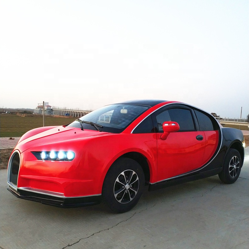 Left hand drive popular fuel & electric sport car with air conditioner