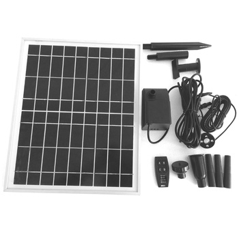Hot Sell ! Pool Water Pump Garden Plants Watering Kit Solar Power Fountain Solar Pump